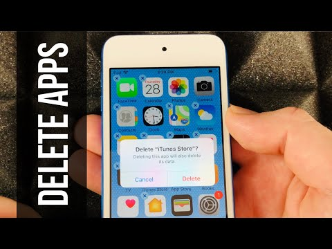 How To Delete Apps On IPod Touch   IPod Touch 7th Gen, IPod Touch 6, IPod Touch 5, IPod Touch 4