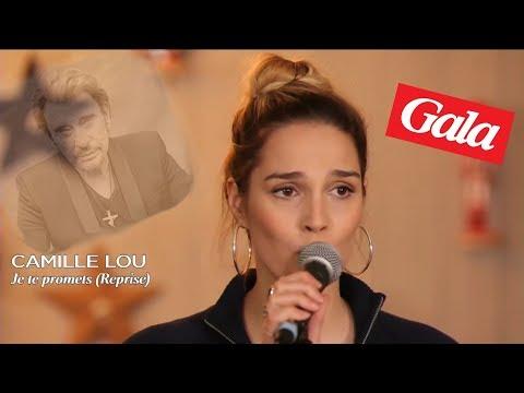Camille Lou - Je te promets de Johnny Hallyday - Live Gala
