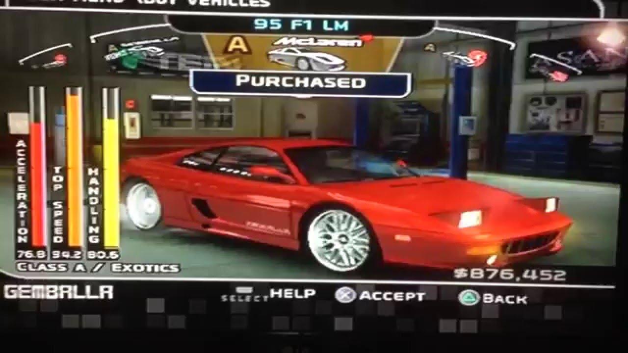 Midnight Club  Dub Edition Free Cars