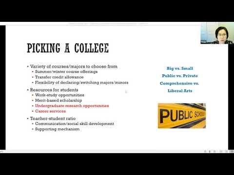 听人力资源专家谈如何选择大学和专业?