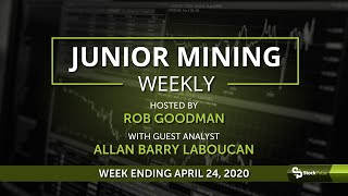 Junior Mining Weekly: Wrap-up For the Week Ending April 24, 2020