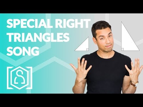 Special Right Triangles Song - a musical rendition (math help for sat test from singing tutor)