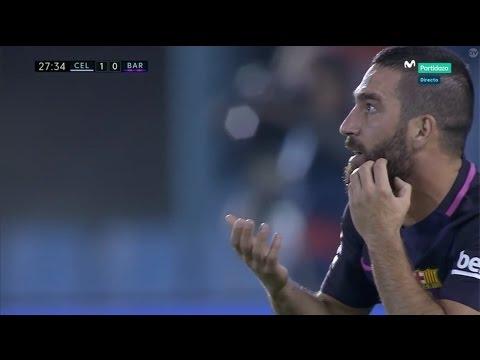 Arda Turan vs Celta Vigo (Away) (02/10/2016) 720p HD
