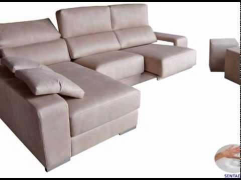 Sofas De Tres Y Dos Plazas Y Cheslongs Youtube