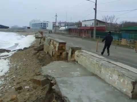Плохая погода на море | Одеcса | Bad weather at sea | Odessa