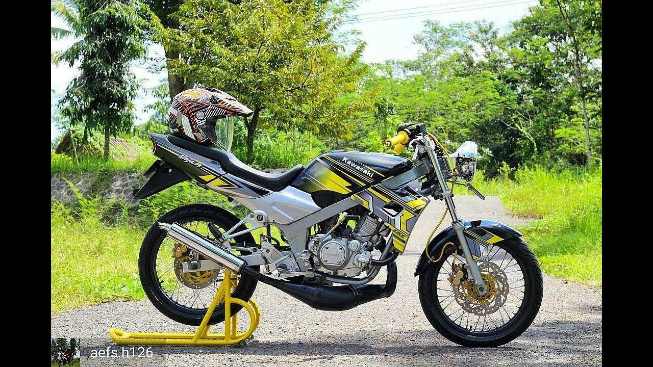 Modifikasi Kawasaki Ninja 2 Tak Velg Jari Jari Youtube