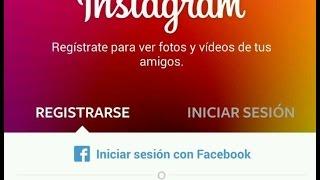 sign up for instagram using facebook