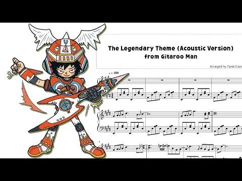 Gitaroo Man - Legendary Theme Acoustic Piano (Sheet Music)