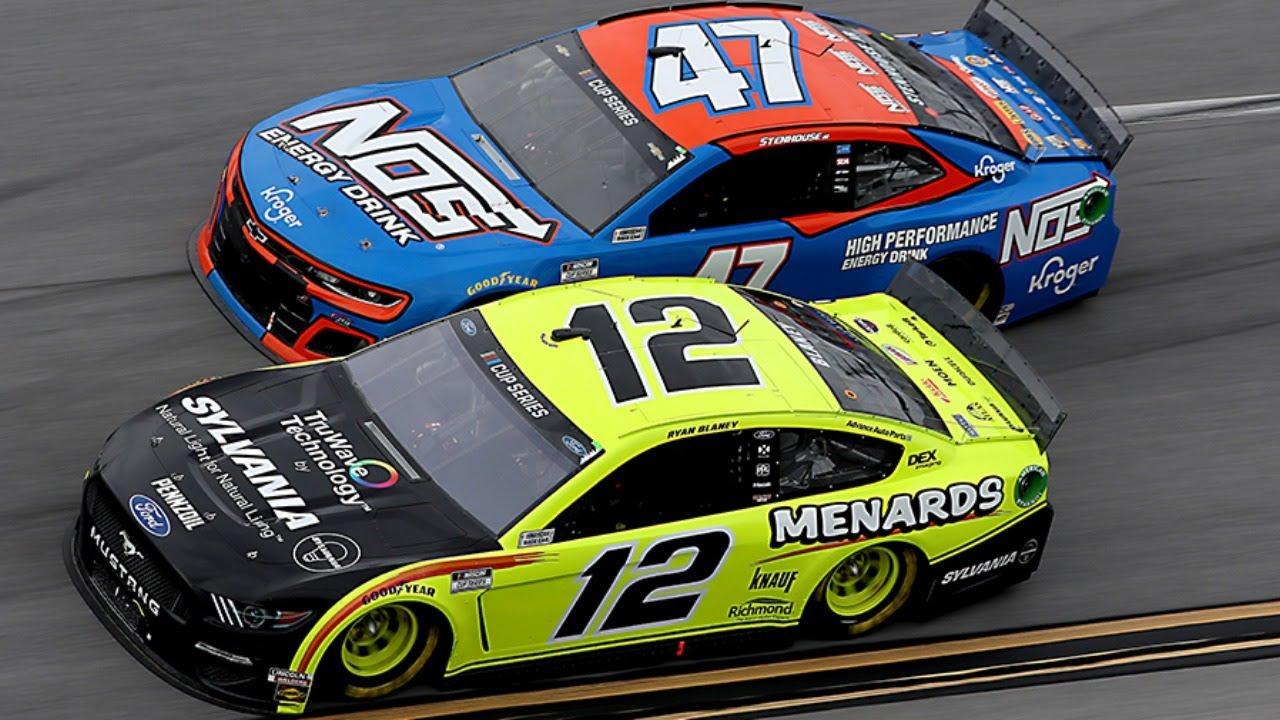 Ryan Blaney LIVE in-car at Talladega Superspeedway | NASCAR Cup Series