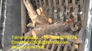 wood shredder machine/Universal shredding machine