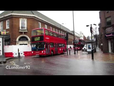 Buses at Romford Essex January 2016