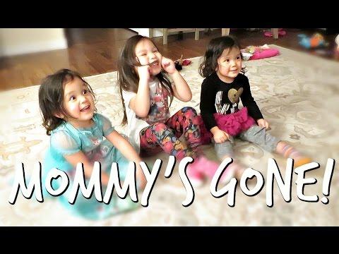 MOMMY'S GONE! - February 24, 2017 - ItsJudysLife Vlogs