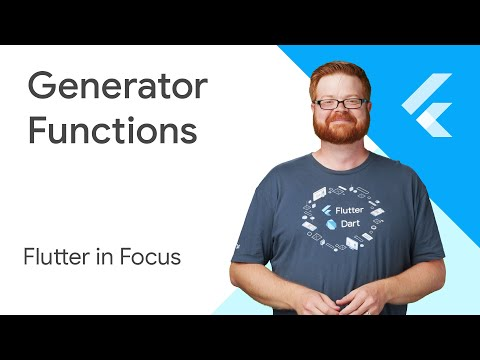Generator Functions - Flutter in Focus