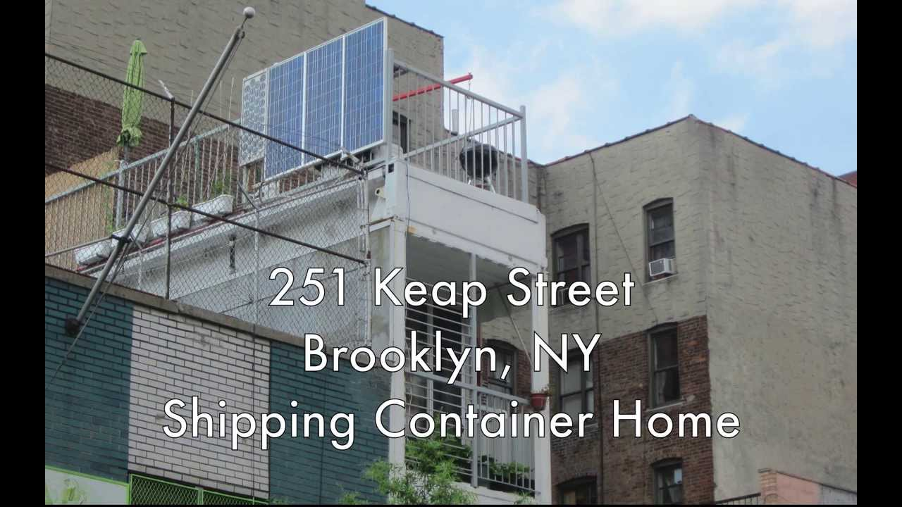shipping containers as homes & offices in williamsburg brooklyn ny