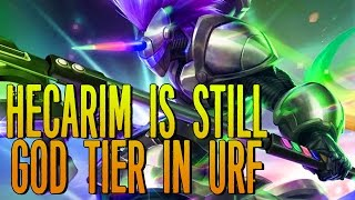 HECARIM IS STILL OP IN 2016 URF XD [ league of legends ]