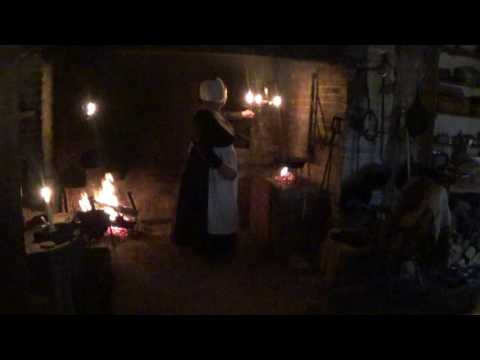 Fireplace Cooking (raised hearth preparation)