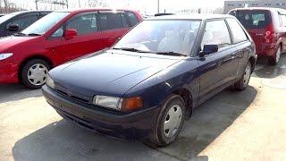 ✈ MAZDA FAMILIA BG Junkyar car マツダ ファミリア BG ジャンクヤードカー