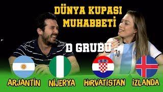 Kübra Ertuğ ile Dünya Kupası Muhabbeti | D Grubu Arjantin Nijerya Hırvatistan İzlanda 2018 World Cup