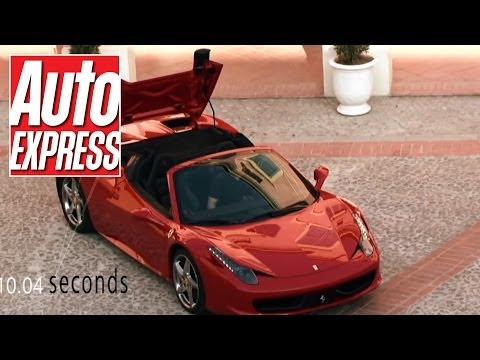 A day with the Ferrari 458 Spider - Auto Express
