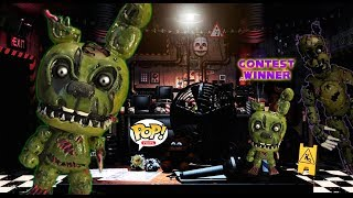 Scraptrap/William Afton Custom POP! (CONTEST WINNER)