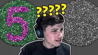 GeorgeNotFound takes a Color Blindness Test