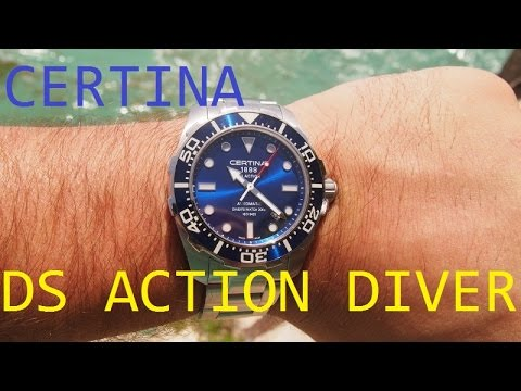 CERTINA DS Action Diver Review