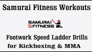 Speed Ladder Drills  for Kickboxing & MMA 1