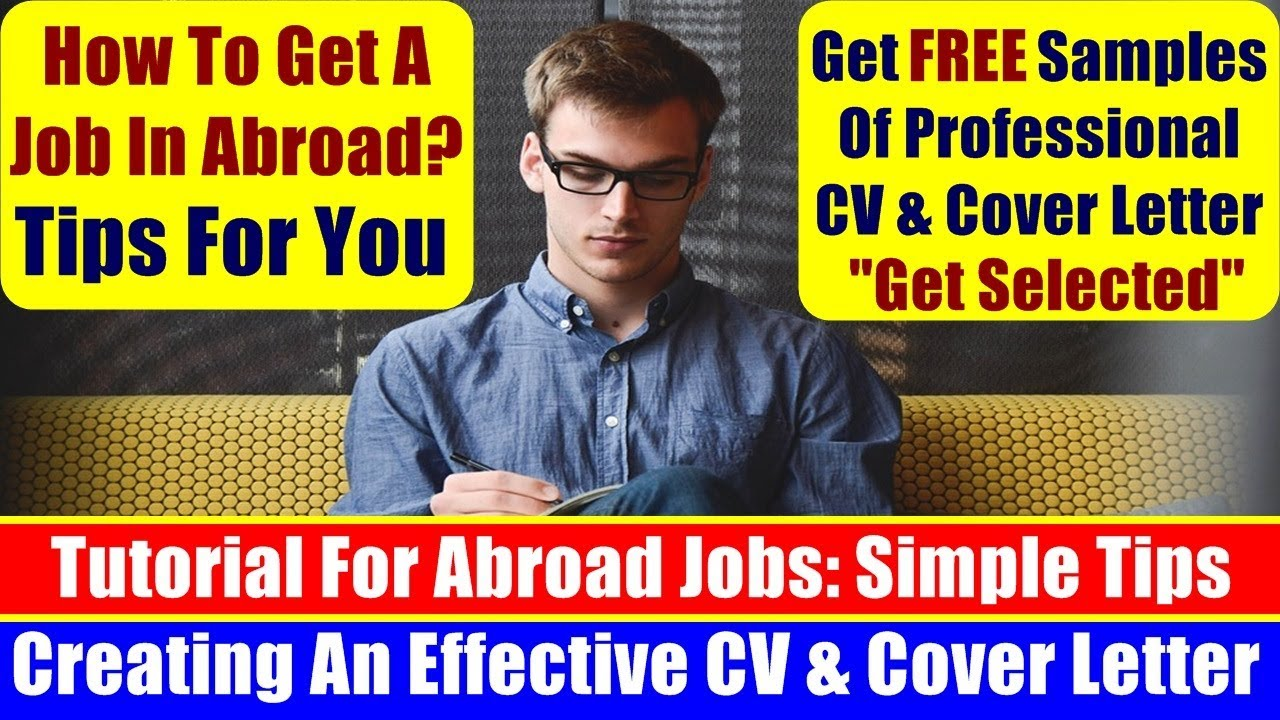 How To Create Professional Cv  Cover Letter To Get Job Easily In