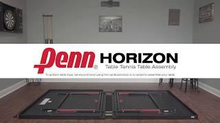 Penn Horizon Table Tennis Table Assembly