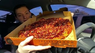 Little Caesars Smokehouse Pizza - Food Review