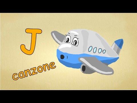 Alfabeto Italiano Per Bambini Canzone La Lettera J Canzone Impara Canzoni L Italiano Per Bambini Youtube