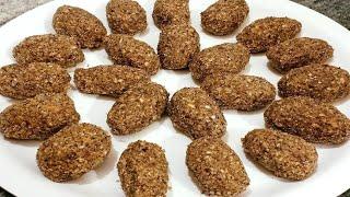 Alsi ki Pinni Recipe   Alsi ke Ladoo   Punjabi Style Recipe in Hindi