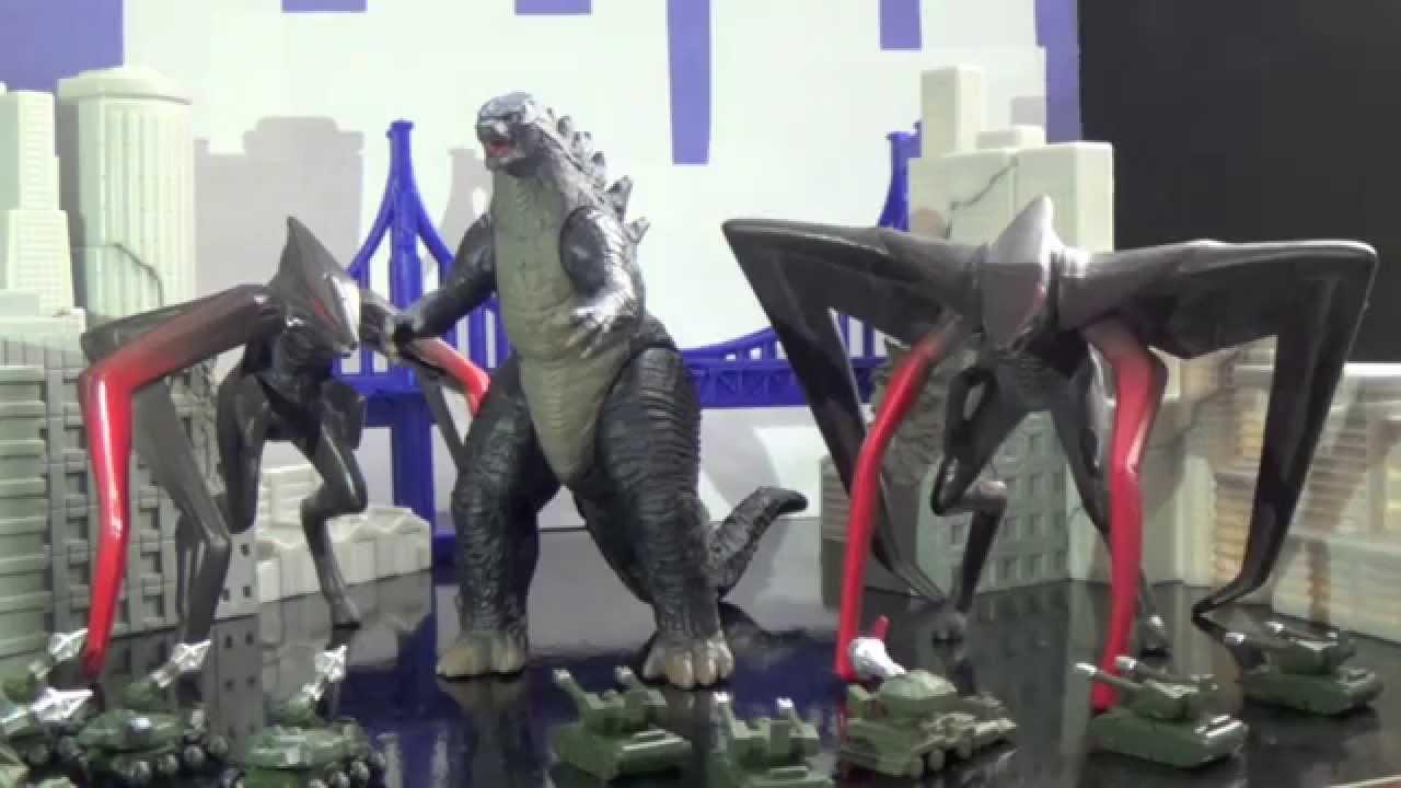Bandai Godzilla Toys Commercial 2015 Youtube