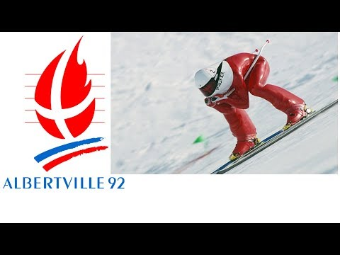 1992 Winter Olympics - Demonstration Event - Men's Speed Skiing