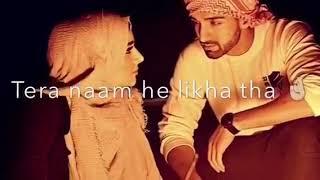Haton ki lakeron mein tera naam he likha tha shaam idress & froggy (jaan e jaan) song with lyrics