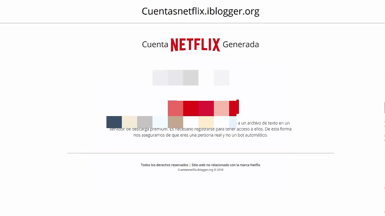 Cuentas Netflix gratis - 2018 cuentas hasta 6 meses