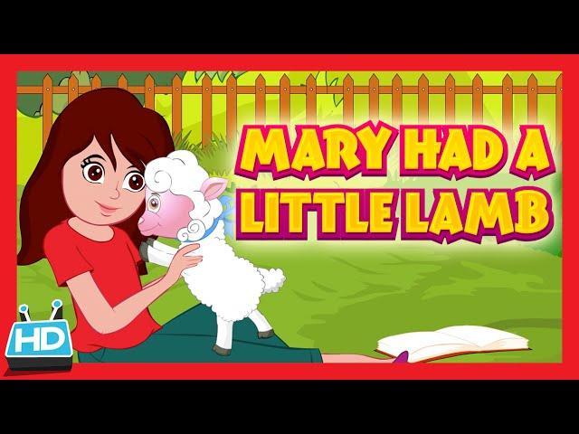 """MARRY HAD A LITTLE LAMB"" Nursery Rhyme"