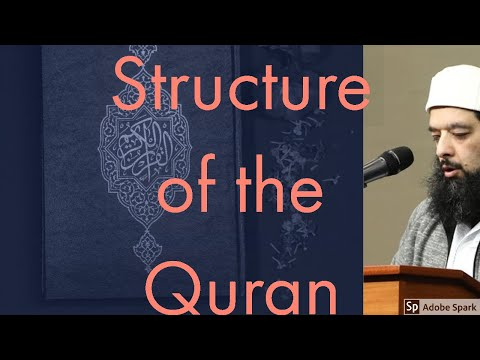 The structure of Holy Quran PArt 01
