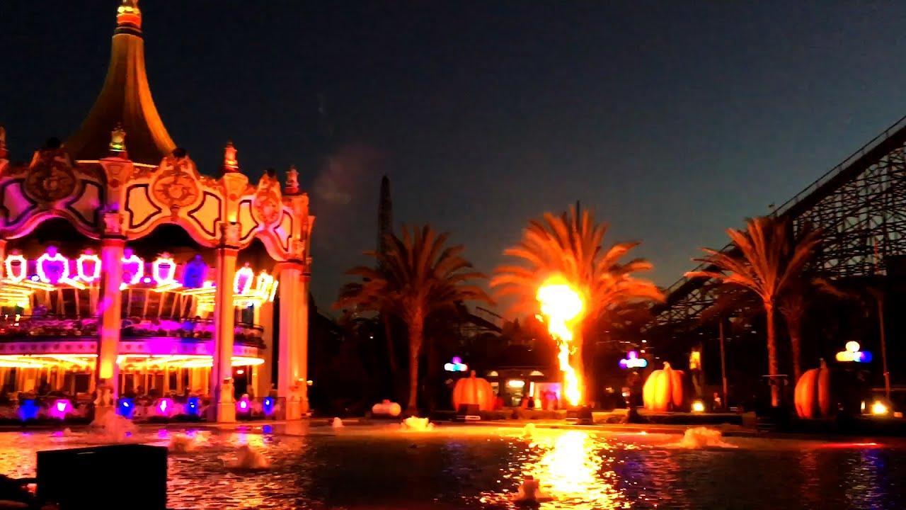 halloween haunt atmosphere, scare zones & entertainment californa's