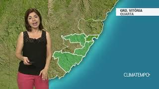 Previsão Grande Vitória – Pouca chuva nesta quarta