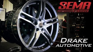 New Shelby Wheels from Drake Automotive at the 2017 SEMA Show Video V8TV