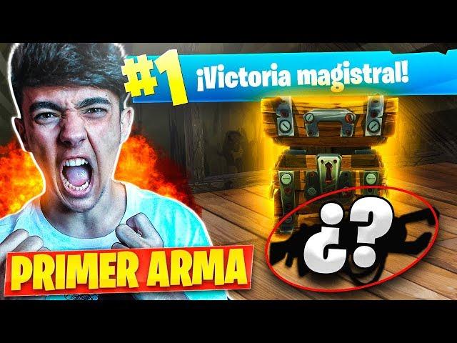 PRIMERA ARMA CHALLENGE en FORTNITE: Battle Royale!! - Agustin51