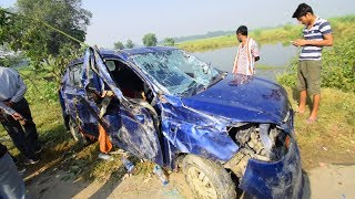 Dangerous Car Accident on National Highway