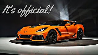 5 Things You Need to Know About The 2019 Corvette ZR1