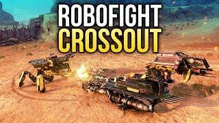 Crossout Robofight: УДАРНЫЙ ЖУК vs ПОЛОЗ ПУСТОШЕЙ!