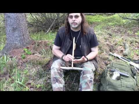 Learn The Eskimo Strap Drill Friction Fire