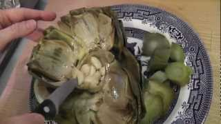 How-to: Roasted Artichokes With Garlic And Lemon ~ A Gluten Free Gigi Recipe