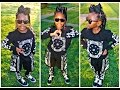 Little Girls | Box Braids | Rubberband Style | OOTD | Dancing