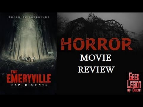 THE EMERYVILLE EXPERIMENTS ( 2016 Pritesh Chheda ) Horror Movie Review