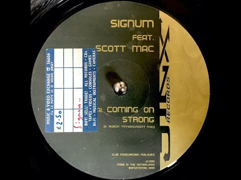Signum Feat. Scott Mac - Coming On Strong (1999)